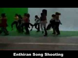 enthiran shooting