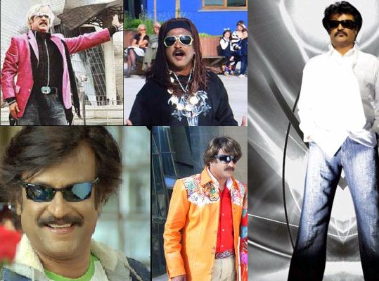 100 styles for Rajini in an Enthiran song
