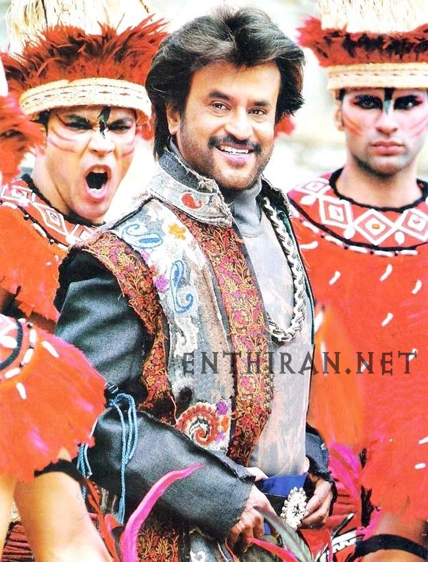 Enthiran Shooting Spot