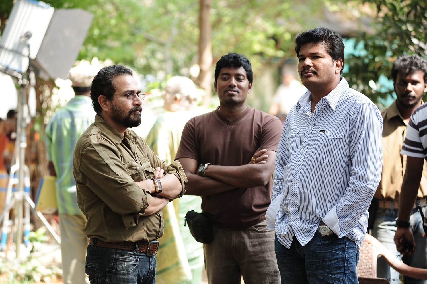 Director Shankar's New WebPage