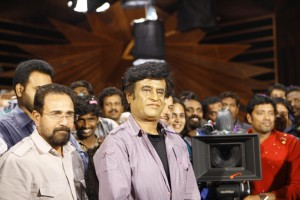 Endhiran Shooting stills