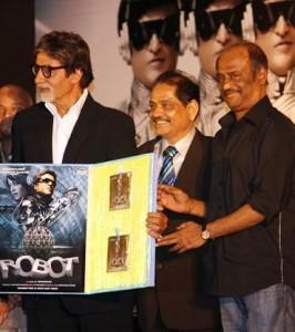 Robot Music Launch in Mumbai