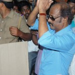 TN Election - Rajini casted his Vote | Rajini Stills | TN Election - Rajini