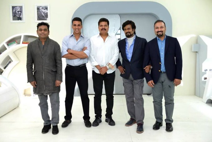 Enthiran 2.0 Movie Stills